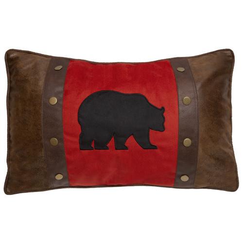 Crimson Bear Pillow