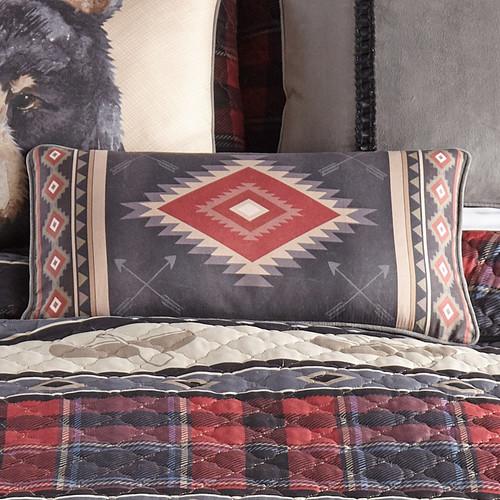 Crimson Diamond Pillow