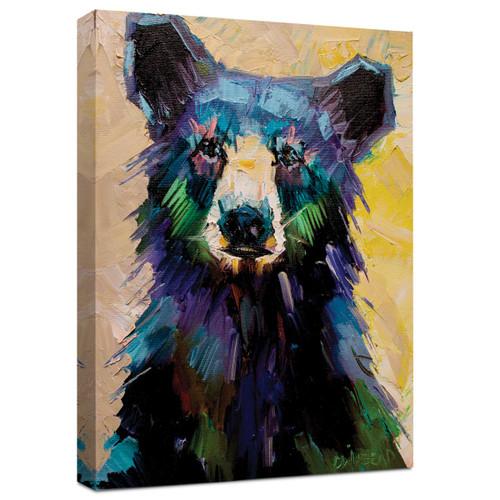 Cub Stare Wrapped Canvas