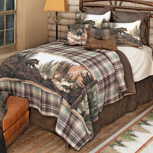 Scenic Bear Mountain Quilt Bedding Collection