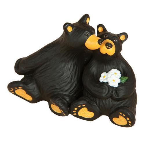 Daisy Kiss Bear Figurine