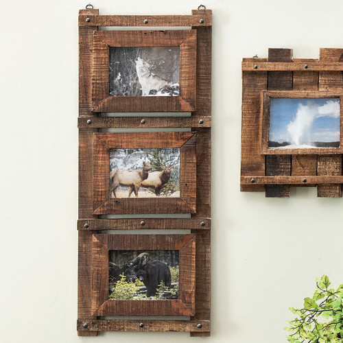 Deadwood Wall Picture Frame - Vertical