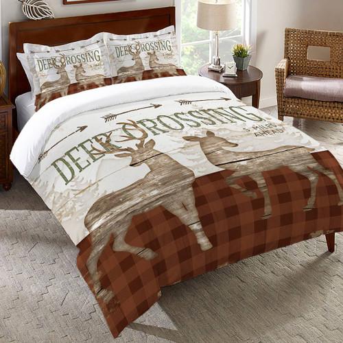 Deer Ahead Comforter - King