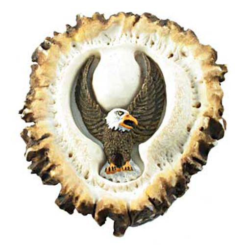 Deer Burr Cabinet Knob - Eagle