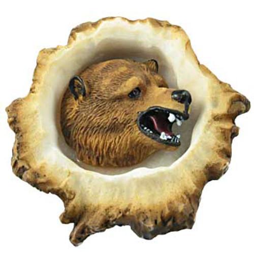 Deer Burr Cabinet Knob - Grizzly Bear