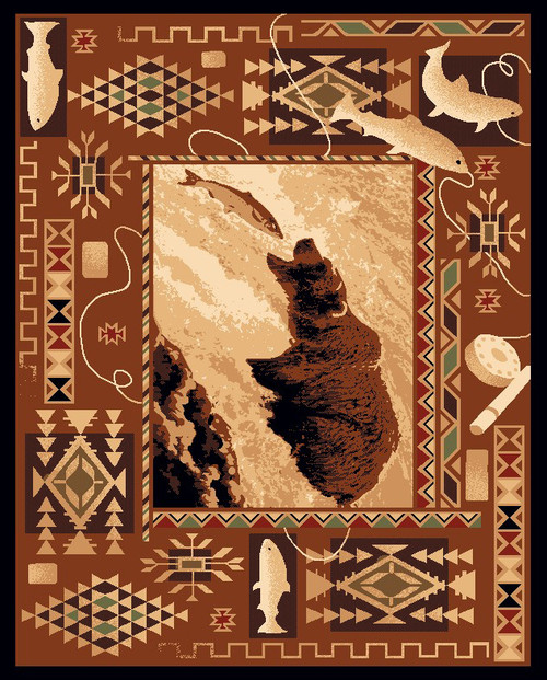 Southwest Fisher Bear Rug Collection