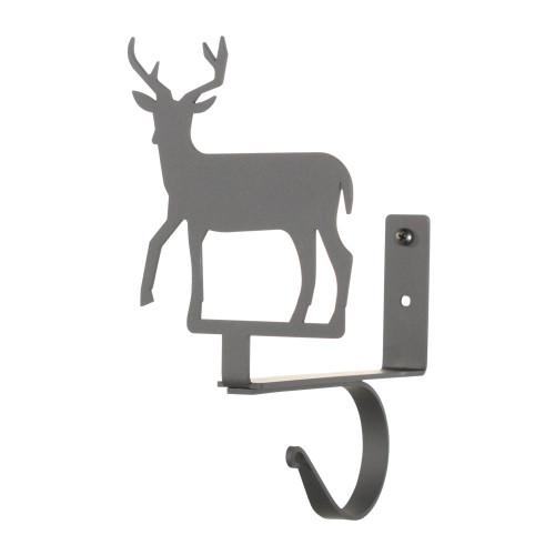 Deer Curtain Shelf Brackets Pair