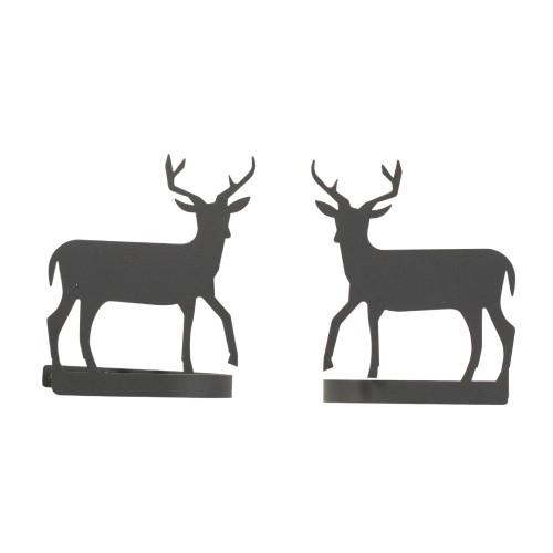 Deer Curtain Tie Backs Pair