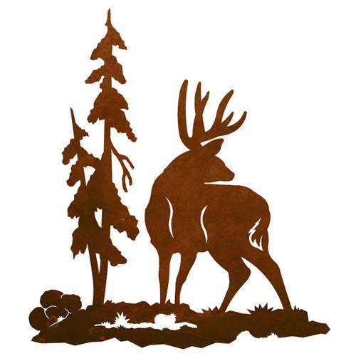 Deer Profile Wall Art