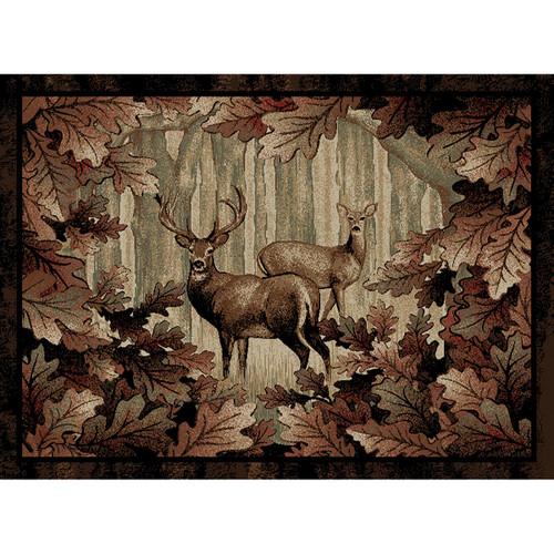 Deer Thicket Rug - 2 x 3