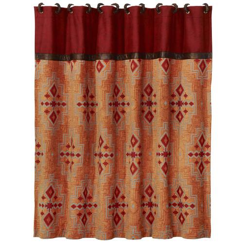 Desert Maze Shower Curtain