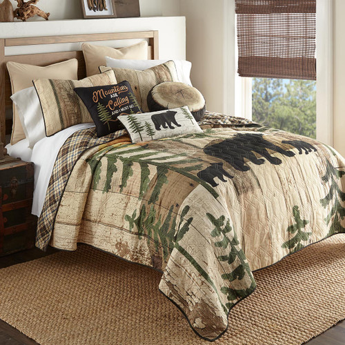 Sunset Bears Quilt Bedding Collection
