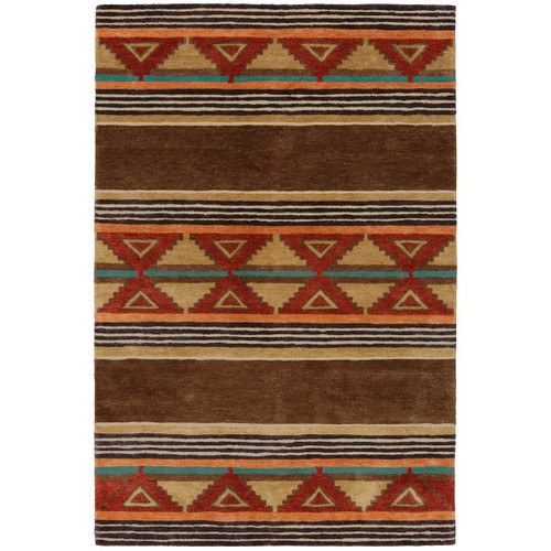 Taos Brown Rug Collection