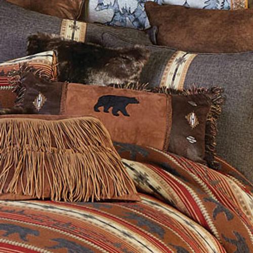 Diamond Bear Pillow