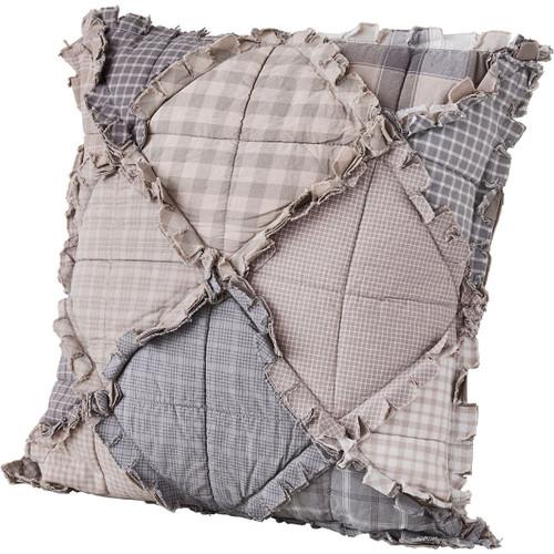 Diamond Plaid Pillow