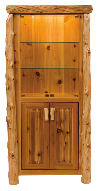 Log Display Cabinet