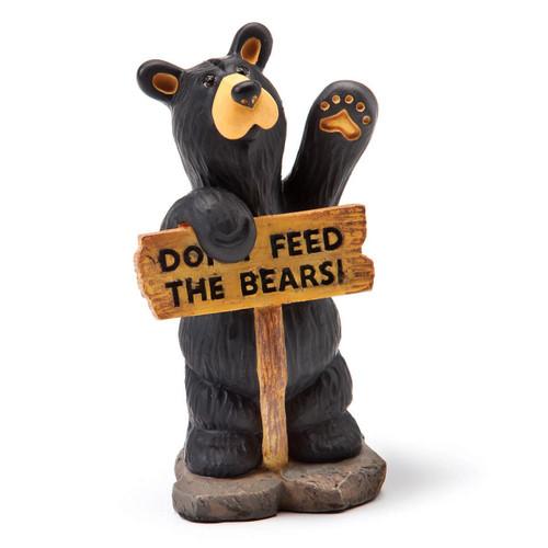 Don't Feed Me Bear Figurine