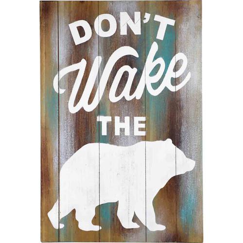 Don't Wake the Bear Wall Art