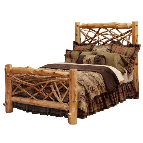Twig Log Bed - Full