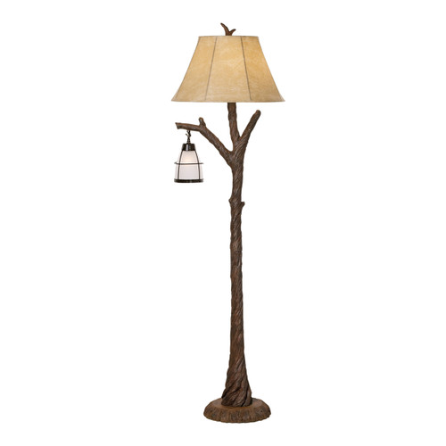Driftwood & Lantern Floor Lamp