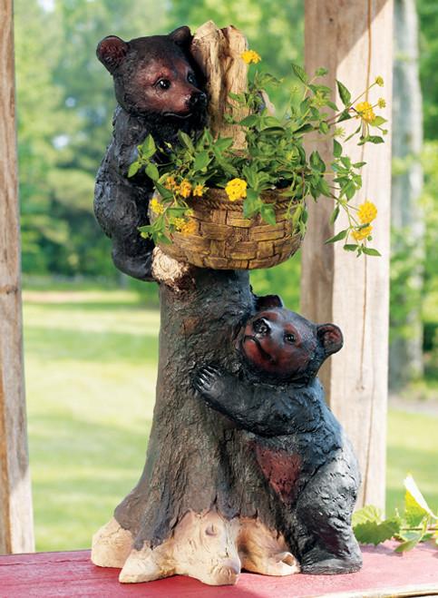 Bear Cubs Planter/Basket
