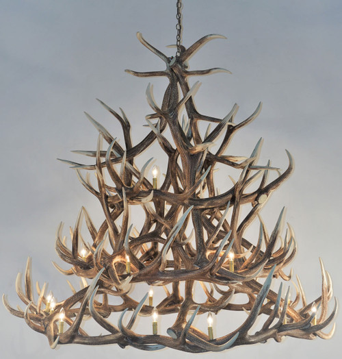 Elk 30 Antler Chandelier