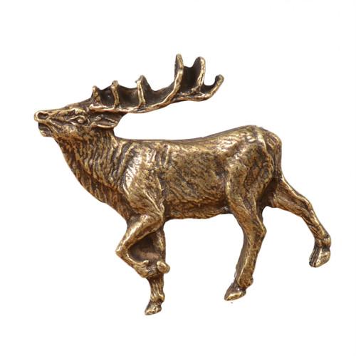 Elk Cabinet Knob - Left Facing