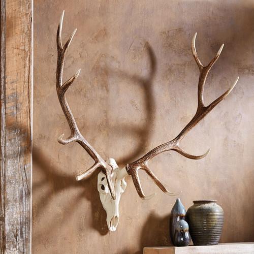Elk Antler Wall Mount - Large