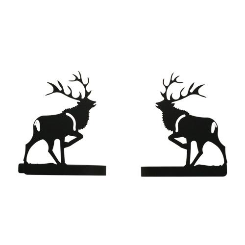 Elk Curtain Tie Backs Pair
