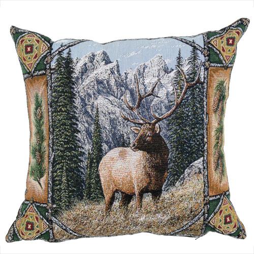 Big Sky Elk Pillow