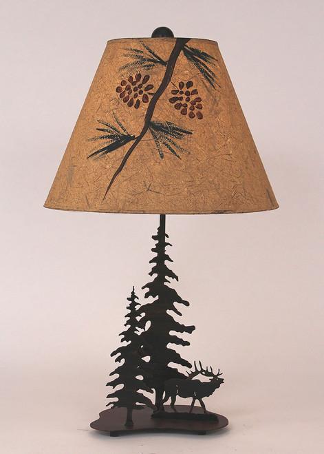 Elk Metal Art Table Lamp