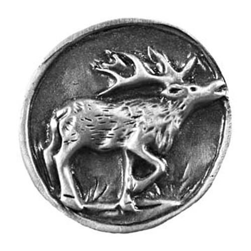 Elk Scene Cabinet Knob