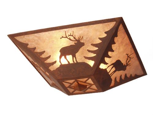 Elk Ceiling Mount Light Fixture
