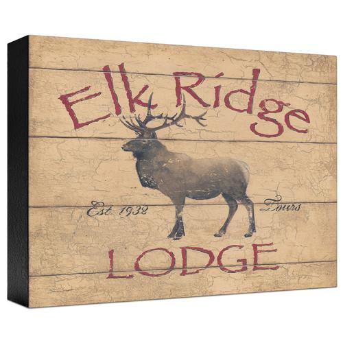 Elk Ridge Gallery Wrapped Canvas