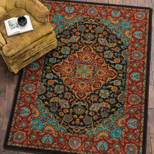 Turquoise Visions Rug Collection