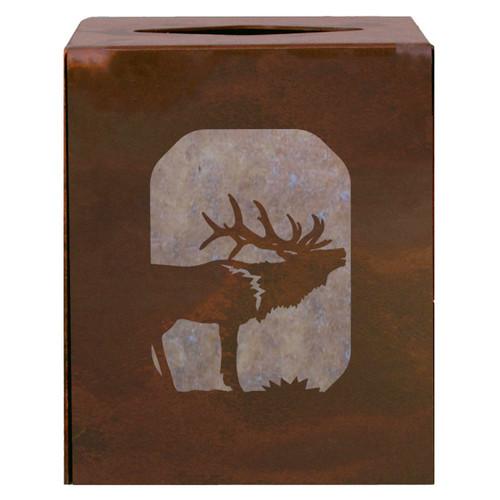 Elk Square Tissue Cover