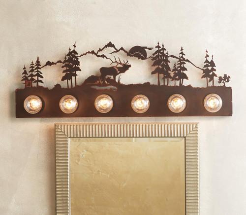 Elk Vanity Light - 6 Light