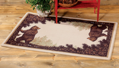 Twin Bears Rug Collection
