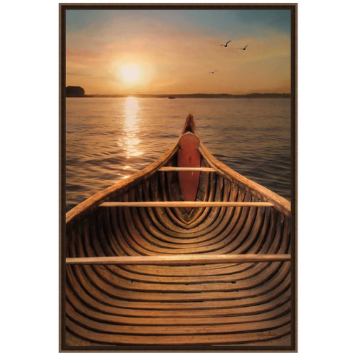 Evening on the Lake Framed Art