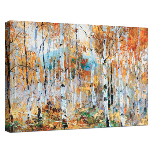 Fall Magic Canvas with Mirrored Edges