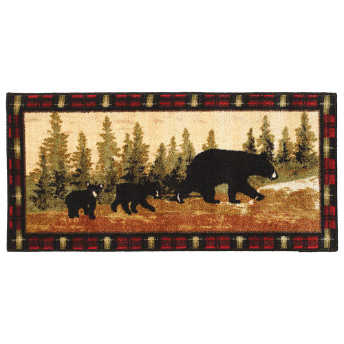 Family of Bears Bath Rug