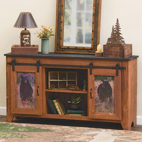 Bear Meadow Barndoor Console Table