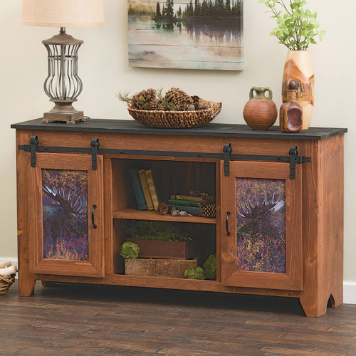 Majestic Moose Barndoor Console Table