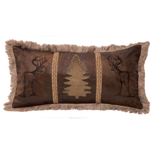 Bucks & Tree Pillow