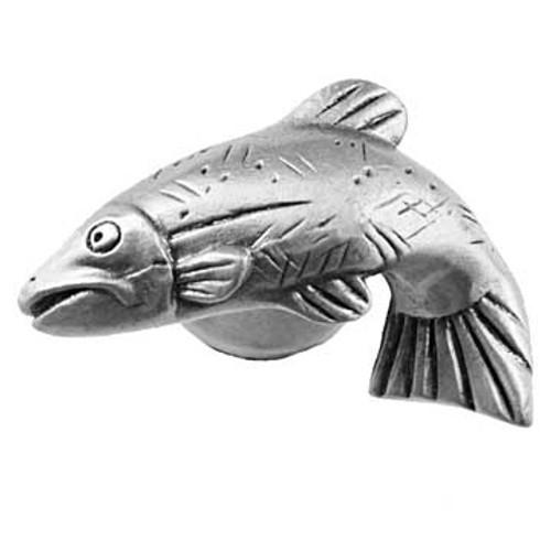 Fish Cabinet Knob - Left Facing