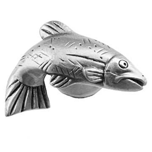 Fish Cabinet Knob - Right Facing