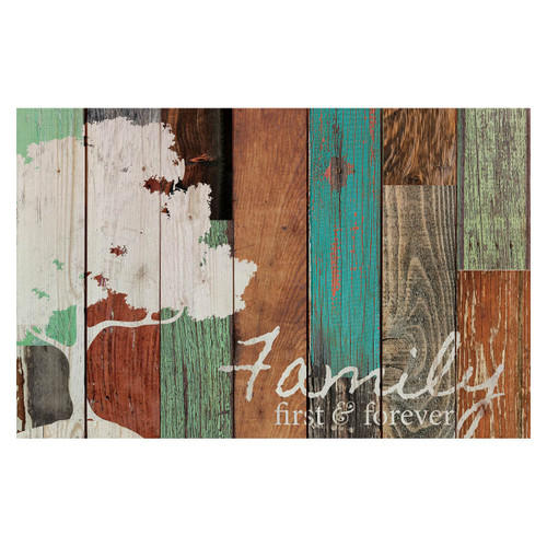 First and Forever Multicolor Pallet Sign