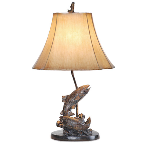 Fish Pair Table Lamp - BACKORDERED UNTIL 11/23/2021