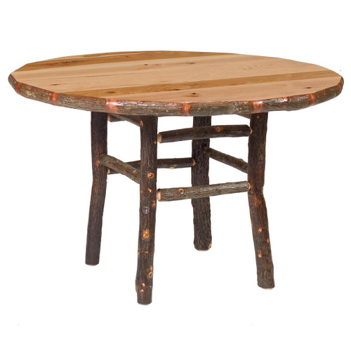 Hickory Round Dining Table - 42 Inch