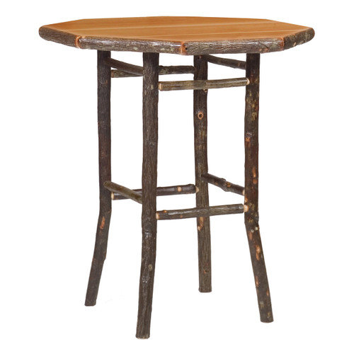 Hickory Round Pub Table - 40 Inch